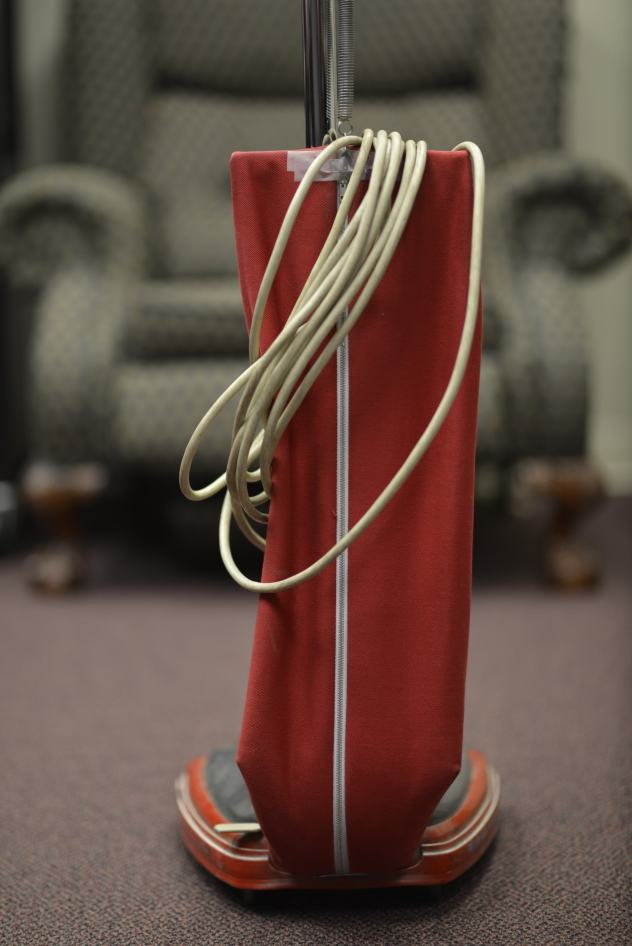 A Red Vacuum Cleaner